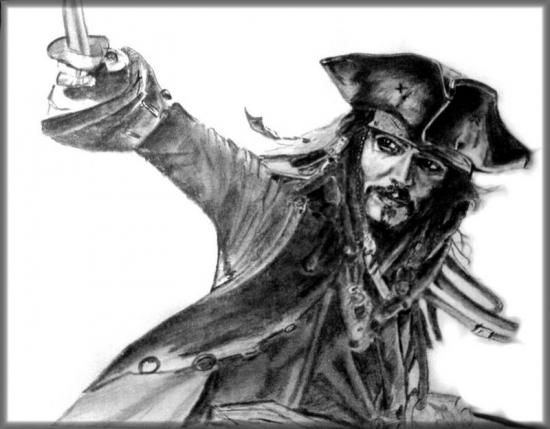 Johnny Depp por cletus26